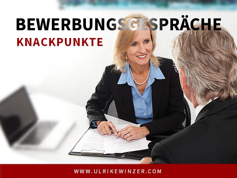 Bewerbungsgespräch - Ulrike WINzer
