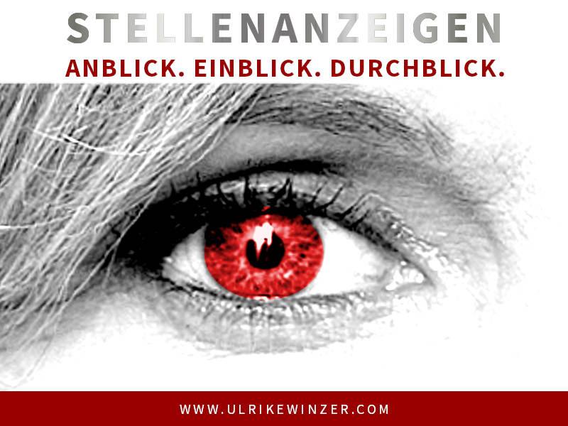 Stellenanzeige gestalten Ulrike Winzer