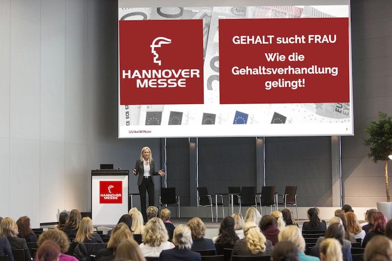 Hannover Messe 2018 - Vortrag auf der Women Power - Foto: Deutsche Messe AG