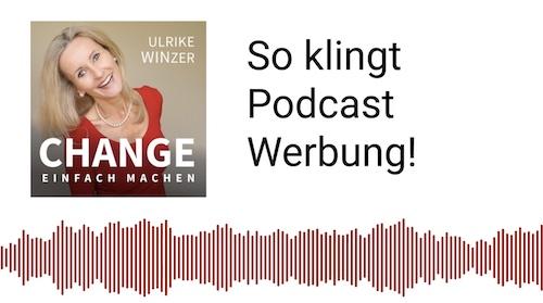 Podcast Werbung bei Ulrike WINzer
