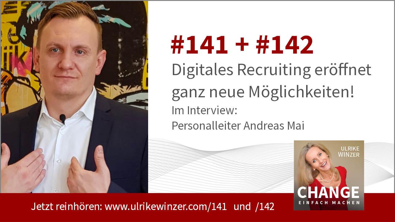 #141 + #142 Interview Andreas Mai - Podcast Change einfach machen! By Ulrike WINzer