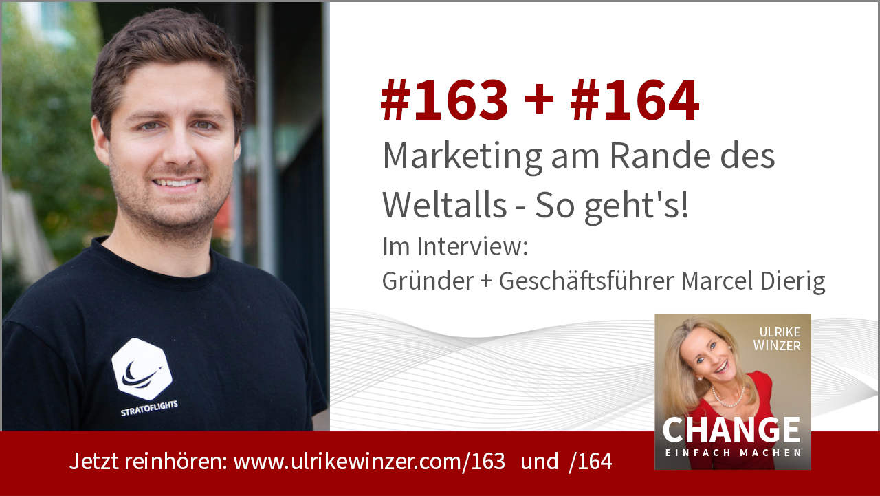#163 + #164 Interview Marcel Dierig - Podcast Change einfach machen! By Ulrike WINzer
