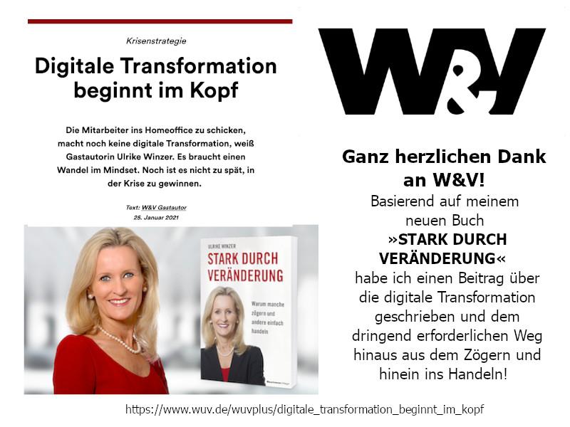 Ulrike WINzer in der W&V