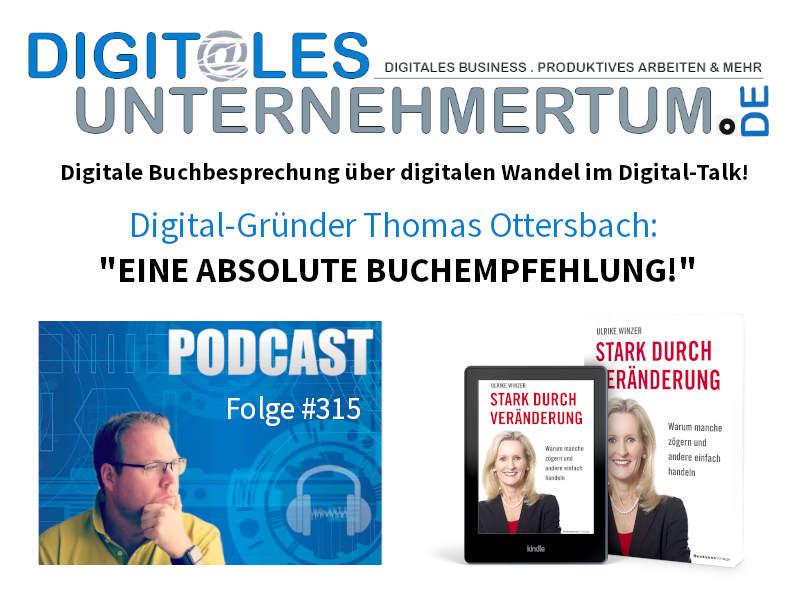 Ulrike Winzer im Podcast Digitales Unternehmertum von Thomas Ottersbach