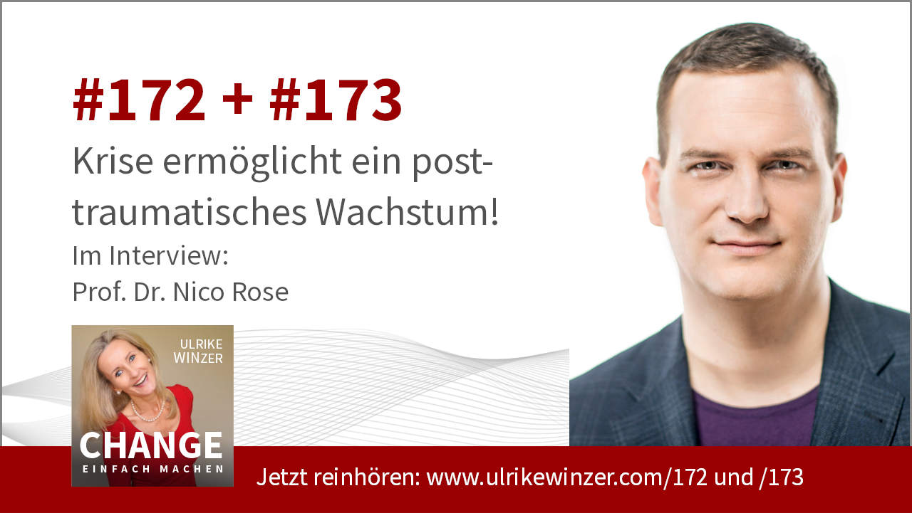 #172 + #173 Interview Prof. Dr. Nico Rose - Podcast Change einfach machen! By Ulrike WINzer