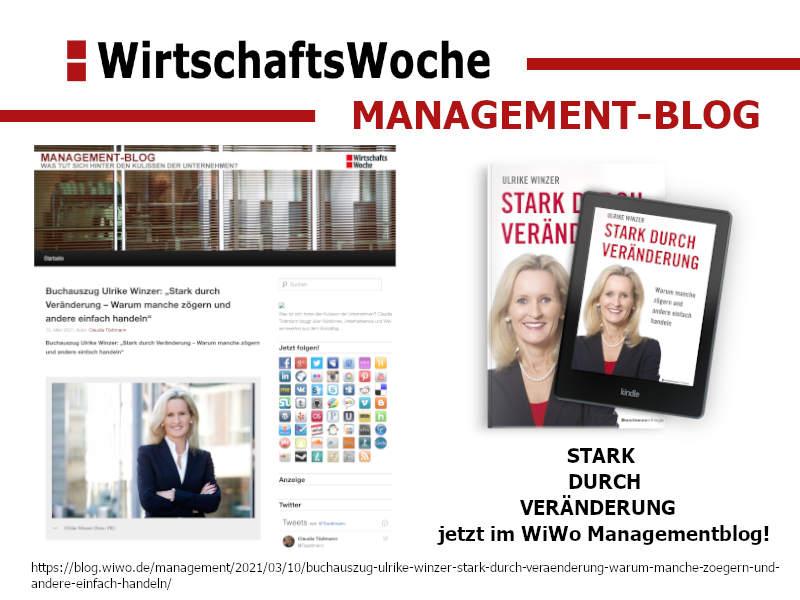 Ulrike WINzer - in der Wirtschaftswoche