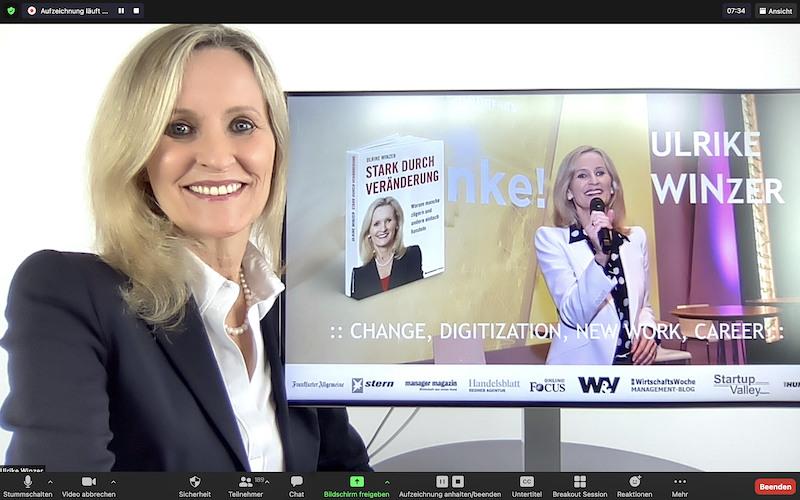 Ulrike WINzer - Digitale Keynote 2021